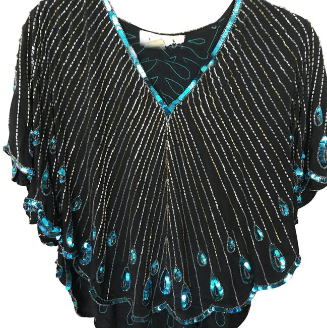 Item - Sequins Never Go Of Style Multicolor Top