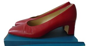 Amalfi Leather Nordstrom Career red Pumps