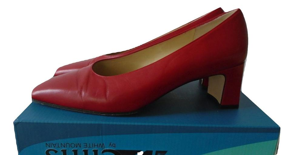 d8d62be675c Amalfi Red Leather For Nordstrom Pumps Size US 10 Regular (M