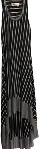 Black/White Stripe Maxi Dress by T-Bags Los Angeles
