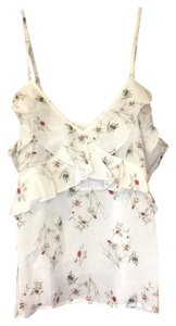 Sincerly Jules Top white floral