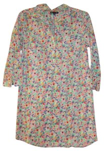 Gap short dress Multi Collared Shirt Flowers on Tradesy
