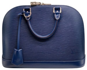 Louis Vuitton Satchel in indigo blue ( navy)