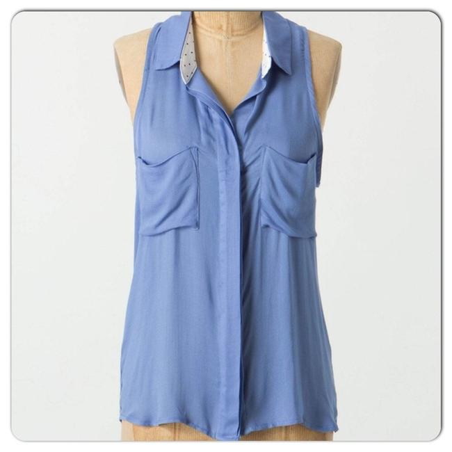 Item - Cerulean Blue Laurina Button-down Top Size 12 (L)