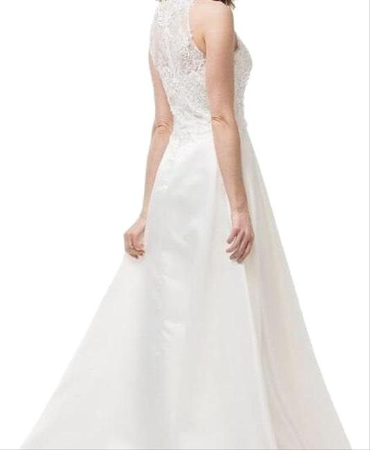 Item - Off White Gown Long Formal Dress Size 4 (S)