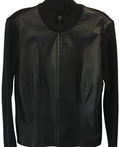 Mossimo Supply Co. black Leather Jacket