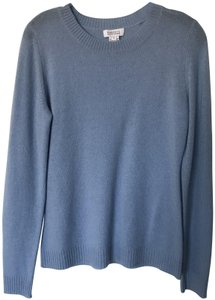 Barneys New York Crewneck Cashmere Staple Soft Sweater
