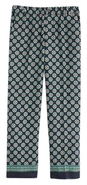 J.Crew Silk Trousers Pants Size 0 (XS, 25) J.Crew Silk Trousers Pants Size 0 (XS, 25) Image 1
