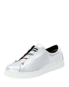 Fendi Rockoko Sneakers Silver Athletic