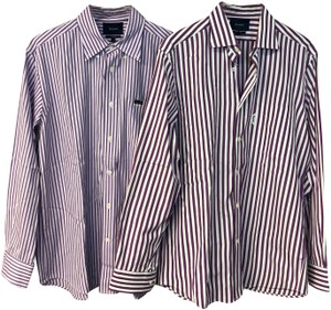 Façonnable Mens Shirt Button Down Shirt