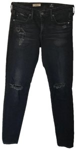 AG Adriano Goldschmied Distressed Denim Edgy Street Skinny Jeans-Distressed
