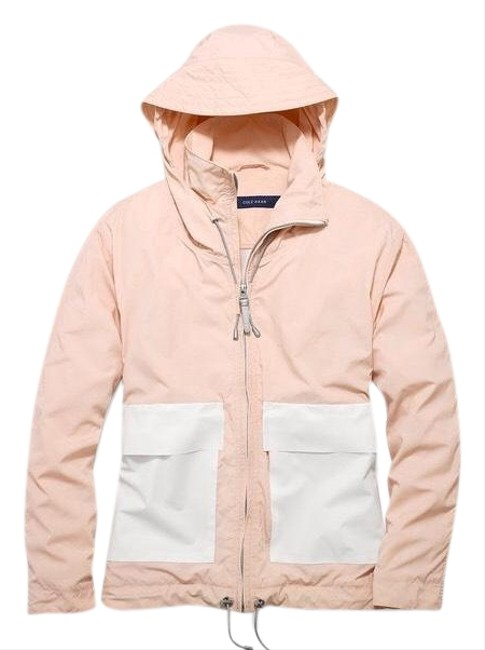 Item - Pale Pink Cropped Anorak Activewear Size 6 (S)