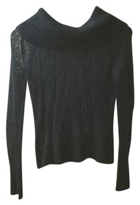 Sisley Offshoulder Cute Cableknit Cable Sweater