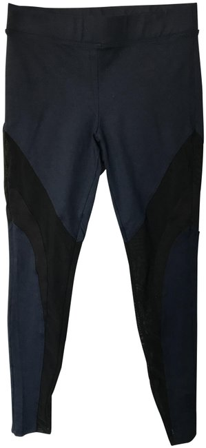 Item - Navy and Black Frame Activewear Bottoms Size 8 (M, 29, 30)