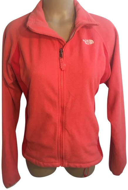 Item - Orange Zip Up Activewear Outerwear Size 8 (M)