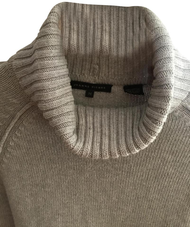 20a858667 Jeanne Pierre Turtleneck Gray Sweater - Tradesy