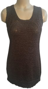Joan Vass Top Brown
