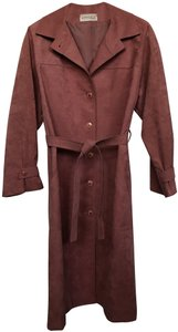 Count Romi Belted Pockets Lined Trench Coat