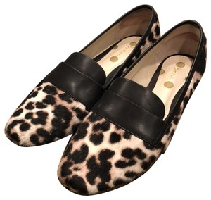 Boden brown and cream multi Flats