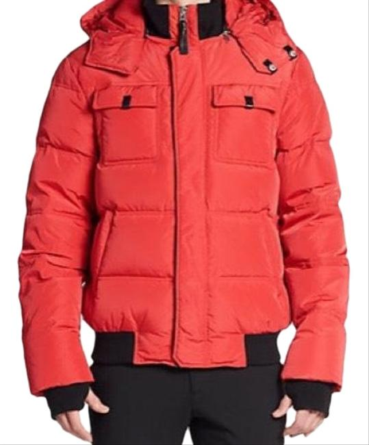 Item - Coral Mens Down-filled Hooded Puffer Jacket Coat Size 10 (M)