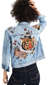 American Eagle Outfitters Classic Tiger Denim Womens Jean Jacket