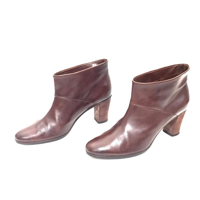 Maison Margiela Brown Distressed Leather Round Boots/Booties Size EU 39.5 (Approx. US 9.5) Regular (M, B) Maison Margiela Brown Distressed Leather Round Boots/Booties Size EU 39.5 (Approx. US 9.5) Regular (M, B) Image 2