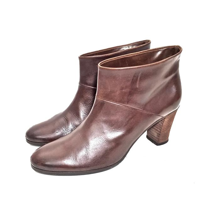 Maison Margiela Brown Distressed Leather Round Boots/Booties Size EU 39.5 (Approx. US 9.5) Regular (M, B) Maison Margiela Brown Distressed Leather Round Boots/Booties Size EU 39.5 (Approx. US 9.5) Regular (M, B) Image 3