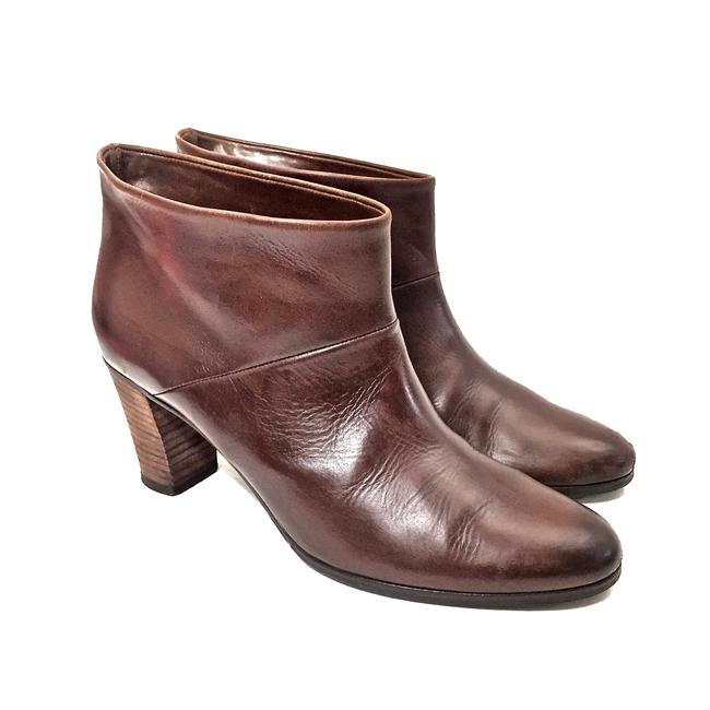 Maison Margiela Brown Distressed Leather Round Boots/Booties Size EU 39.5 (Approx. US 9.5) Regular (M, B) Maison Margiela Brown Distressed Leather Round Boots/Booties Size EU 39.5 (Approx. US 9.5) Regular (M, B) Image 4