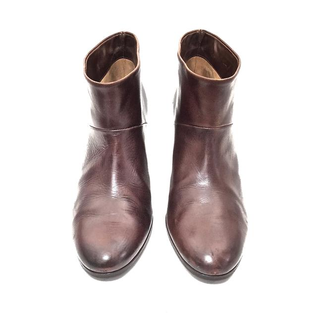 Maison Margiela Brown Distressed Leather Round Boots/Booties Size EU 39.5 (Approx. US 9.5) Regular (M, B) Maison Margiela Brown Distressed Leather Round Boots/Booties Size EU 39.5 (Approx. US 9.5) Regular (M, B) Image 5