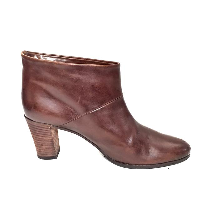 Maison Margiela Brown Distressed Leather Round Boots/Booties Size EU 39.5 (Approx. US 9.5) Regular (M, B) Maison Margiela Brown Distressed Leather Round Boots/Booties Size EU 39.5 (Approx. US 9.5) Regular (M, B) Image 7