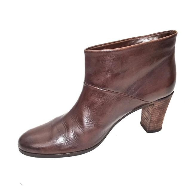 Maison Margiela Brown Distressed Leather Round Boots/Booties Size EU 39.5 (Approx. US 9.5) Regular (M, B) Maison Margiela Brown Distressed Leather Round Boots/Booties Size EU 39.5 (Approx. US 9.5) Regular (M, B) Image 8