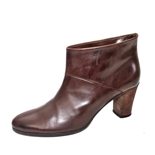 Maison Margiela Brown Distressed Leather Round Boots/Booties Size EU 39.5 (Approx. US 9.5) Regular (M, B) Maison Margiela Brown Distressed Leather Round Boots/Booties Size EU 39.5 (Approx. US 9.5) Regular (M, B) Image 9