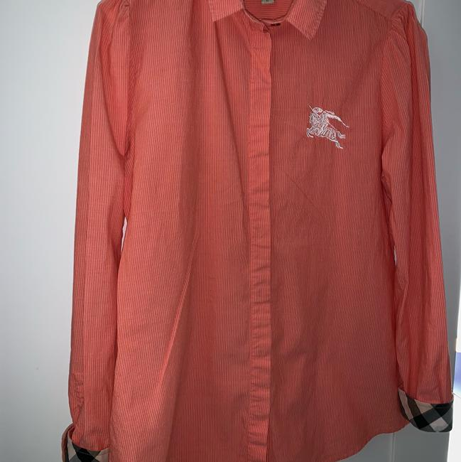 Burberry Button Down Shirt peach Image 1