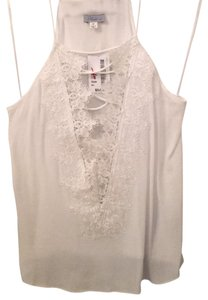 Abbeline Top White