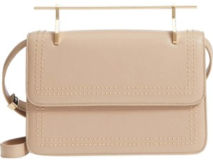 M2Malletier Studded Clutch Shoulder Bag