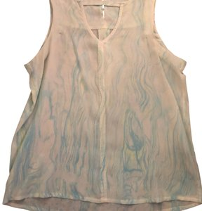 Gypsy05 Top green/blue pastel