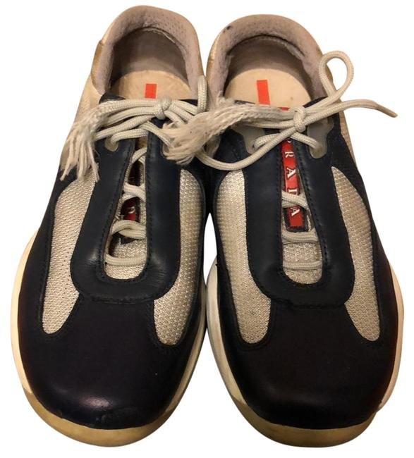 Item - Navy American Cup Sneakers Size US 8.5 Regular (M, B)