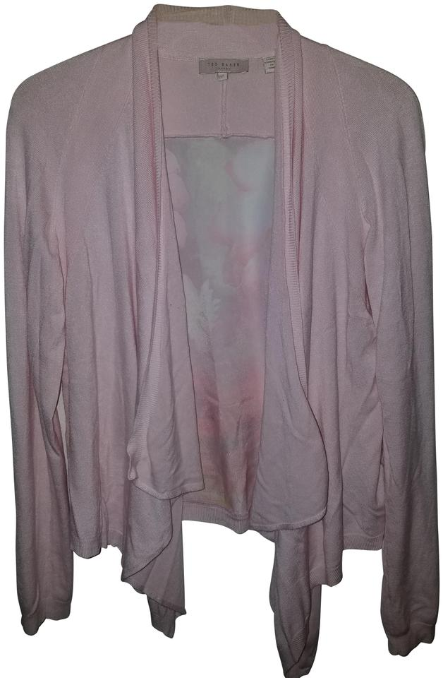 16b7ce565a05 Ted Baker Pink Open Cardigan Size 6 (S) - Tradesy