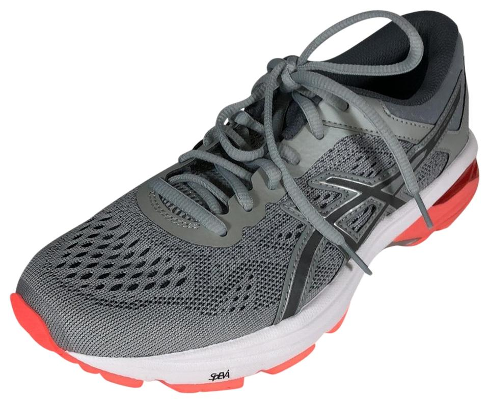 b0635c063a Asics Gray Peach T7a9n Gt-1000 6 Performance Running Sneakers Size ...