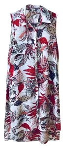 Spense Casual Lightweight Floral Flowy Tunic