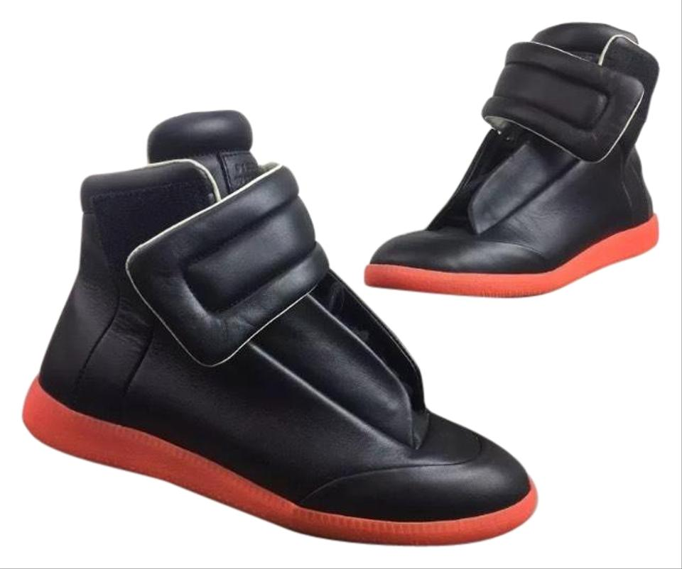 04525ed5c03f Maison Margiela Hard2find 'futures' Red and Black Mens 41 Eu Boots/Booties