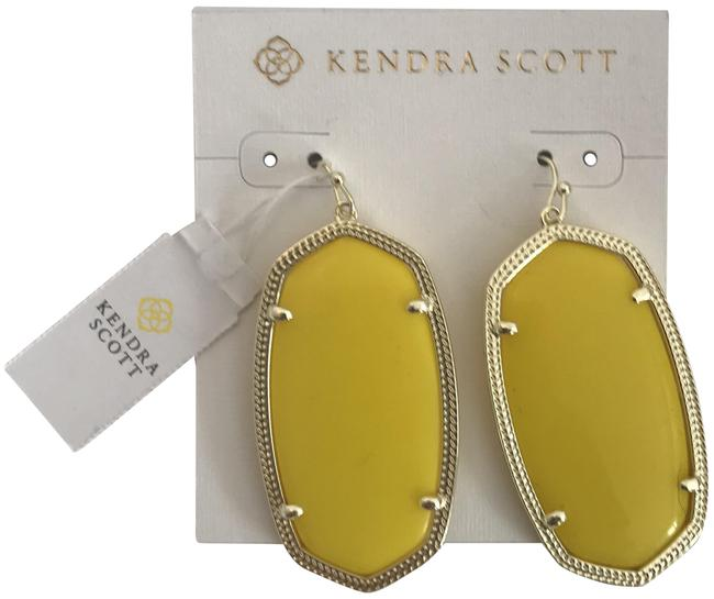 Item - Yellow And Gold Earrings