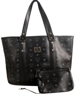 MCM Liz Neverfull Shopper Anya Tote in Black