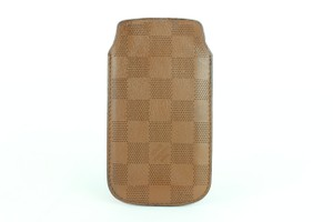 Louis Vuitton Damier Perforated Leather iPhone 5 Mobile Etui Softcase 16LJ1110
