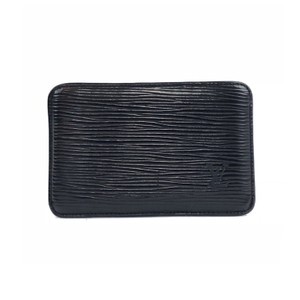 Louis Vuitton Black Epi Card Holder