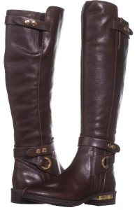 30fdda73c285 Vince Camuto Brown Boots - item med img. Vince Camuto. Brown Prini Wide  Calf Tall ...