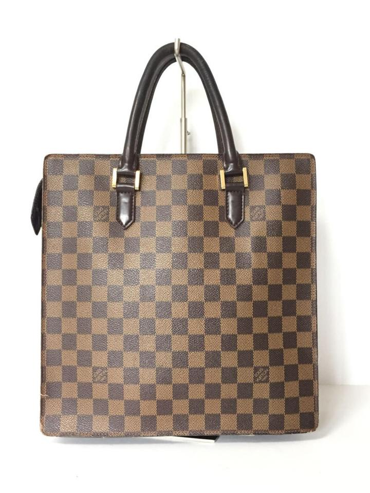 b10330be66d7 Louis Vuitton Sac Plat Shopper Venice Neverfull Ebene Tote in Brown Image 0  ...