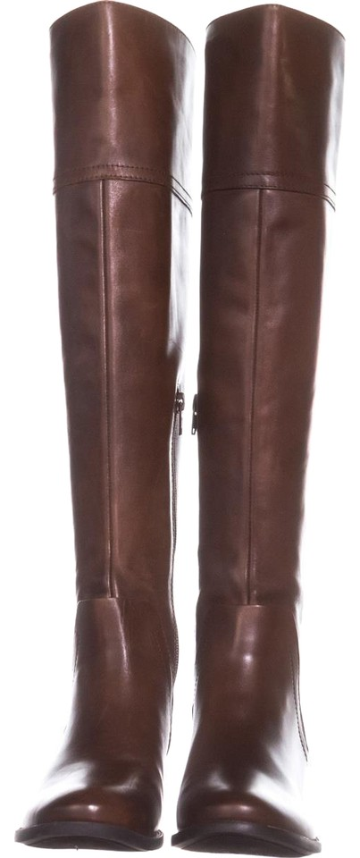 52b81a44ead Vince Camuto Brown Bendra Over-the-knee Woven 323 Russet   35 Boots ...
