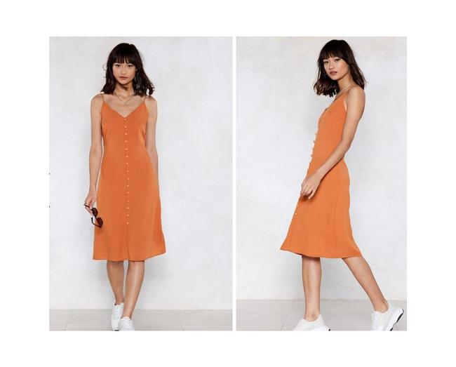 Item - Ginger Sunshine Everybody Loves The Cami Nw Mid-length Short Casual Dress Size 8 (M)