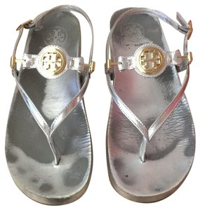 79f634f2fbe3 Women s Silver Tory Burch Shoes - Up to 90% off at Tradesy